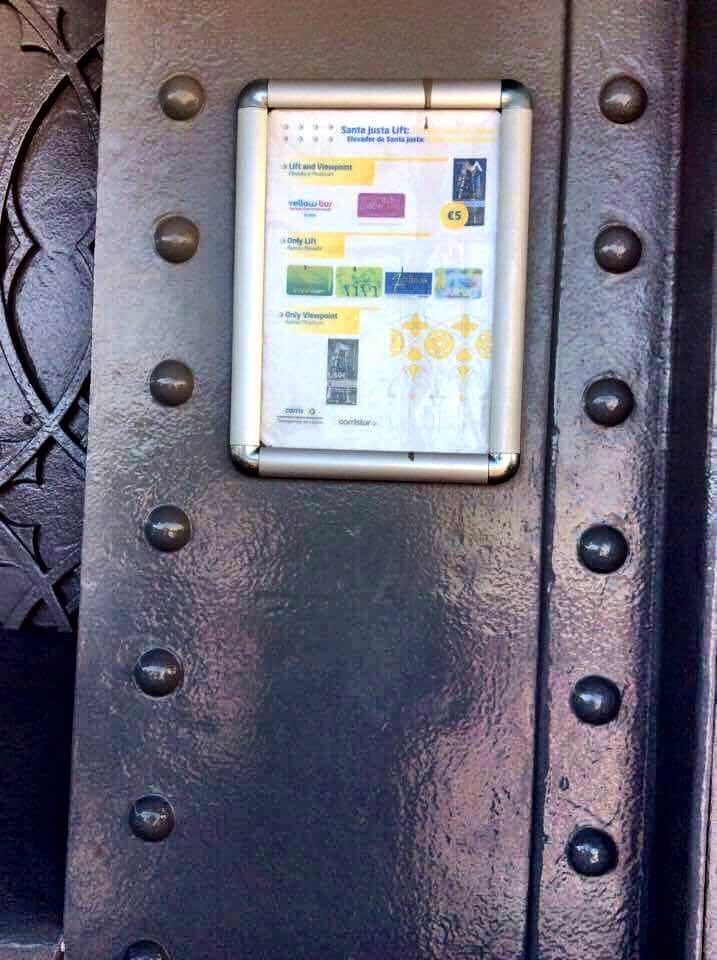 elevador button